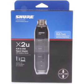Adaptador de Señal XLR a USB Shure X2u