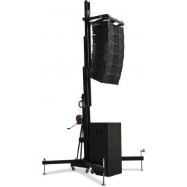 Torre elevadora profesional para arreglo lineal Work WT 500