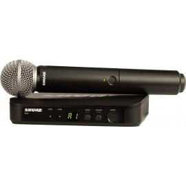 Sistema Micrófono Inalámbrico de mano Shure BLX24/SM58