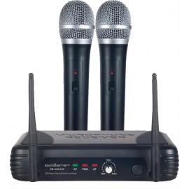 Micrófono Inalámbrico Doble Soundbarrier SB-62UHF
