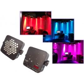 Par LED Flat 48 LED´s de 3 Watts Lite-Tek