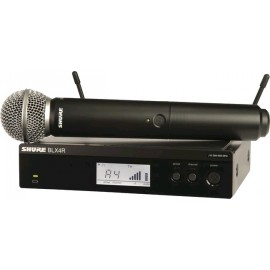 Sistema Micrófono Inalámbrico de mano Shure BLX24R/SM58