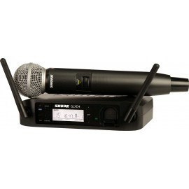 Sistema Micrófono Inalámbrico de mano Shure GLXD24/SM58