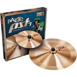 """Paquete de platillos Paiste PST 7 Effects Pack (S10""""/C18"""")"""