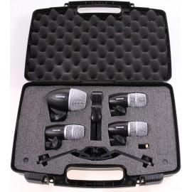 Juego de Micrófonos Shure para Batería PGDMK4