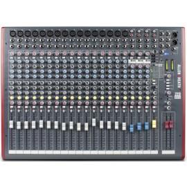 Mezcladora de audio de 22 canales con efectos y conexión USB Allen&Heat ZED22FX