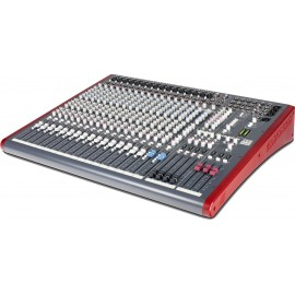 Mezcladora de audio de 20 canales 4 buses con conexión USB Allen & Heat ZED420