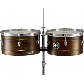 "Timbales Meinl MARATHON® Series MT1415RR-M Color Antique Finish 14"" y 15"" pulgadas"