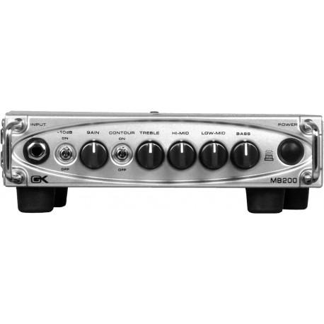 Amplificador para gabinete de bajo electrico Gallien-Krueger MB200