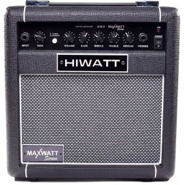 Amplificador para guitarra eléctrica Hiwatt de 15 Watts MAXWATT G15/8R