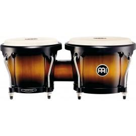 Bongos de madera Meinl Percussion Serie Headliner® HB100VSB Vintage Sunburst