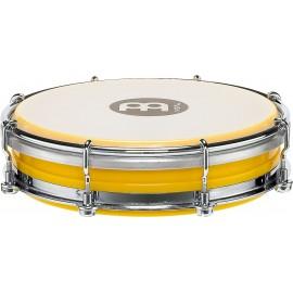"""Pandero Tamborin Floautune Meinl Percussion TBR06ABS-Y de 6"""" pulgadas color amarillo"""