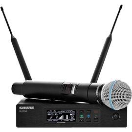 Sistema Micrófono Inalámbrico Digital de Mano Profesional Shure QLXD24/B58