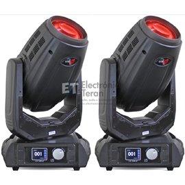 Par de Cabezas Móviles Lite-Tek Beam 350 con estuche