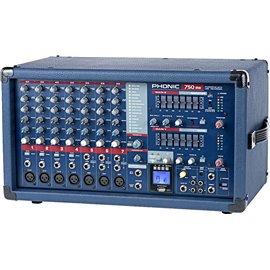 Consola Mezcladora de 7 canales Phonic Powerpod 750RW con reproductor mp3 y Bluetooth