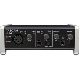 Interfaz de audio USB de 2 canales TASCAM US-1x2