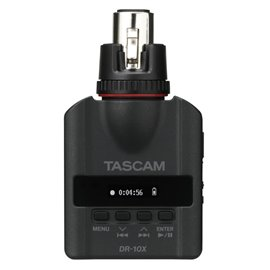 Grabador de audio para micrófonos dinámicos TASCAM DR-10X