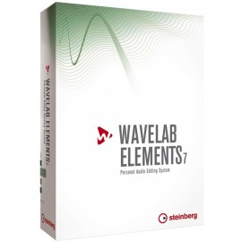 Software Wavelab Elements 7 Sistema de Edición Personal de Audio