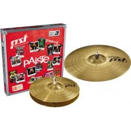 "Paquete de platillos Paiste PST 3 Essential Set (14"" HH/ 18"" CR)"