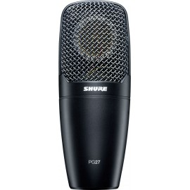 Micrófono condensador de captación lateral Shure PG27-LC