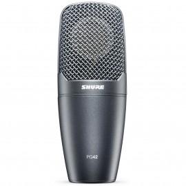 Micrófono condensador de captación lateral Shure PG42-LC