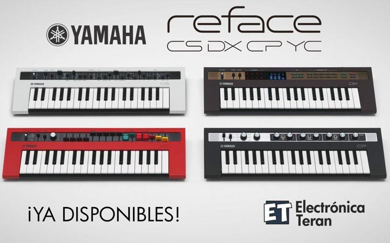Mini Sintetizadores Yamaha REFACE