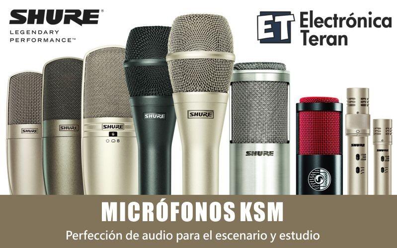 Micrófonos Shure KSM
