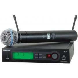 Sistema micrófono inalámbrico de mano Shure SLX24/Beta58