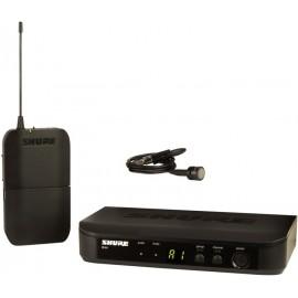 Sistema Micrófono Inalámbrico de Solapa Shure BLX14/PG85