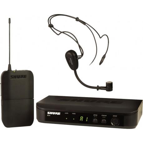 Sistema Micrófono Inalámbrico de diadema Shure BLX14/PG30
