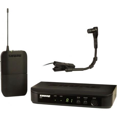 Sistema Micrófono Inalámbrico para instrumentos Shure BLX14/B98