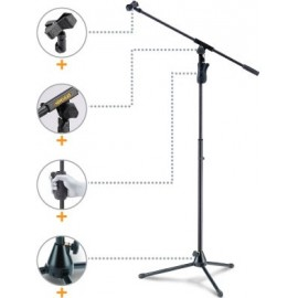 Tripie para micrófono con boom Hercules MS631B