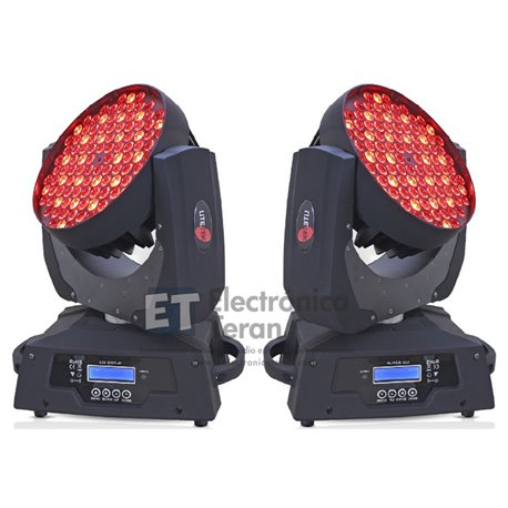 Cabeza Movil Wash Lite Tek 108 LED´S de 3 Watts
