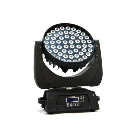 Cabeza Movil Lite-Tek Wash LED 56 LEDS de 10 watts