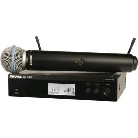 Sistema Micrófono Inalámbrico de mano Shure BLX24R/B58