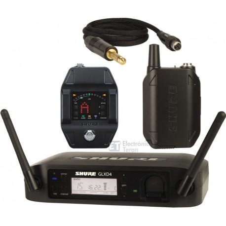 Sistema Micrófono Inalámbrico para guitarra o bajo Shure GLXD16