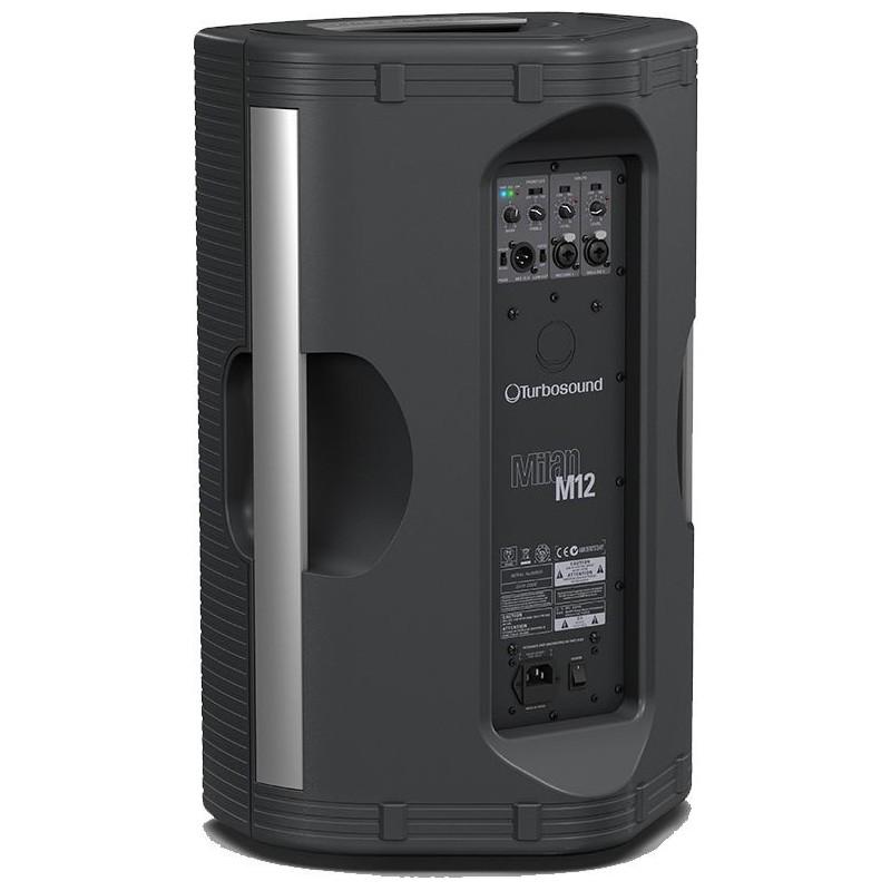 bafle amplificado turbosound milan m12 electr nica teran tienda en l nea de audio. Black Bedroom Furniture Sets. Home Design Ideas