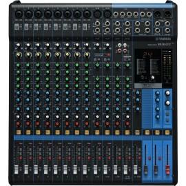 Mezcladora Yamaha MG16XU de 16 canales con efectos y conexión USB