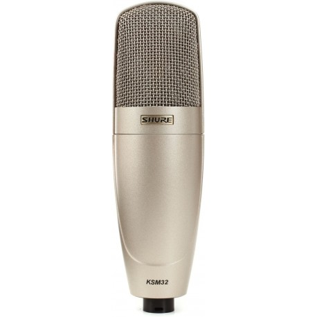 Micrófono Shure KSM32 condensador cardiode para estudio y escenario