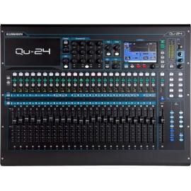 Mezcladora digital de 24 canales Allen & Heat QU-24
