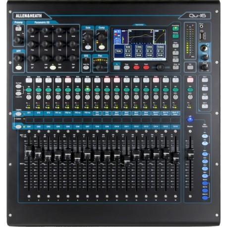 Mezcladora digital de 16 canales Allen & Heat QU-16