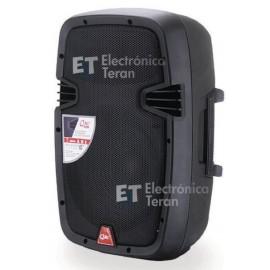 """Bocina amplificada QMC-10A de 10"""" pulgadas con Bluetooth y reproductor USB MP3"""