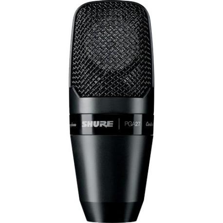 Micrófono de Condensador Shure PGA27 de captación lateral con diafragma grande