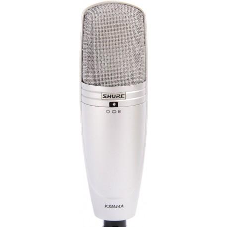 Micrófono profesional de condensador Shure KSM44A para estudio voces e intrumentos