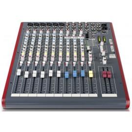 Mezcladora de audio de 12 canales con efectos y conexión USB Allen&Heat ZED12FX