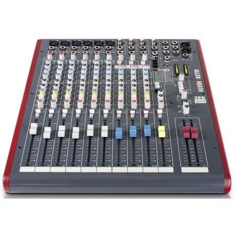 Mezcladora de audio de 12 canales con efectos y conexión USB