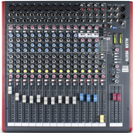Mezcladora de audio de 16 canales con efectos y conexión USB Allen&Heat ZED16FX