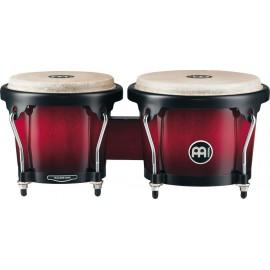 Bongos de madera Meinl Percussion Serie Headliner® HB100WRB Vino sombreado
