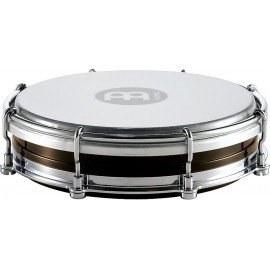 "Pandero Tamborin Floautune Meinl Percussion TBR06ABS-BK de 6"" pulgadas color negro"