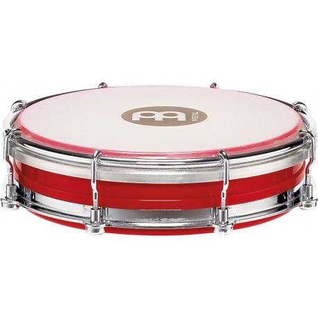 "Pandero Tamborin Floautune Meinl Percussion TBR06ABS-R de 6"" pulgadas color rojo"